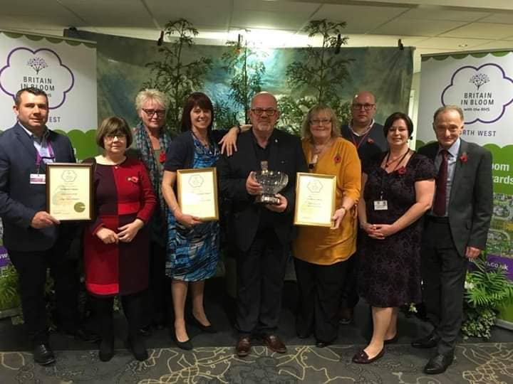 Gold for Fleetwood in Bloom in 2018, with Fleetwood Town Council