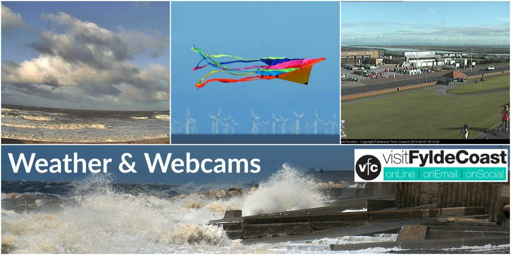 Weather and Tides with Visit Fylde Coast