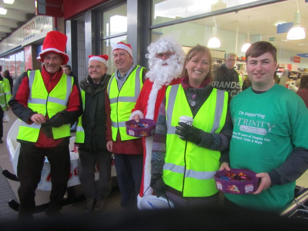 meet Santa at Morrisons, Cleveleys