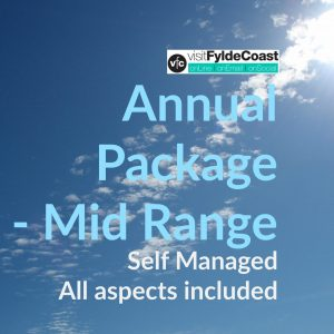 Mid Range Annual Package with Visit Fylde Coast