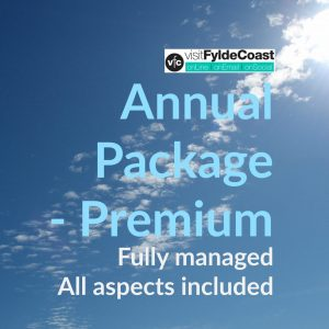 Premium Annual Package with Visit Fylde Coast