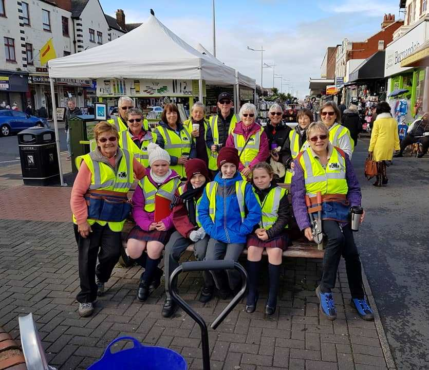 Care for Cleveleys Town Centre Team Clean Up Dates 2019
