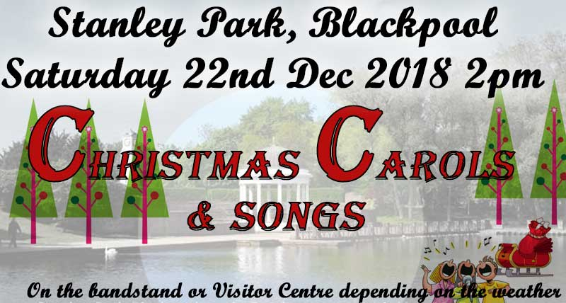 Carols and Christmas Songs at Stanley Park • Visit Fylde Coast