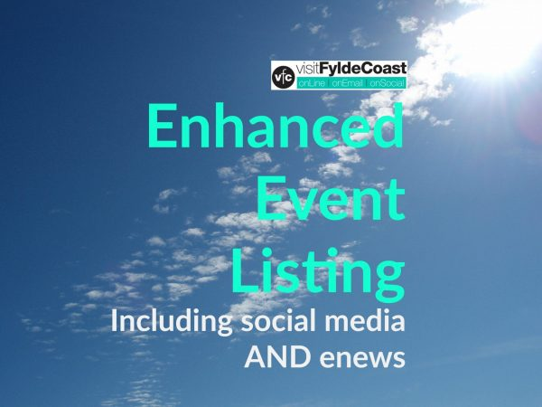 Enhanced Event Listing with Visit Fylde Coast