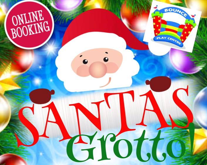 visit Santa's Grotto at Bounce Play Centre