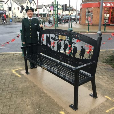New Memorial Bench for Cleveleys