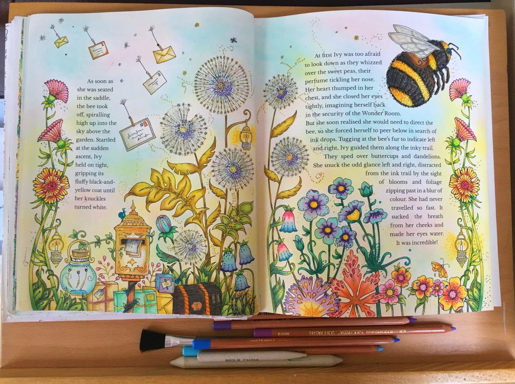 Bumble Bees and Birthdays with Chrissie Blogger