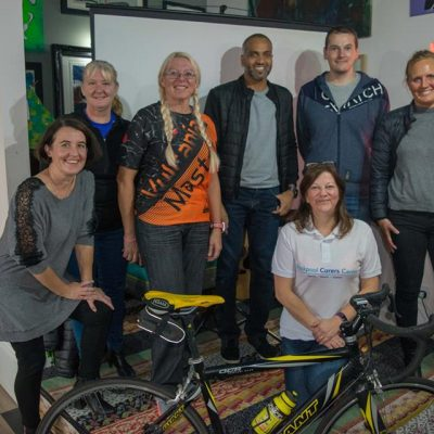 Julie's Big Bicycle Challenge