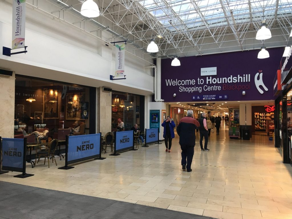 Welcome to Houndshill Shopping Centre Blackpool