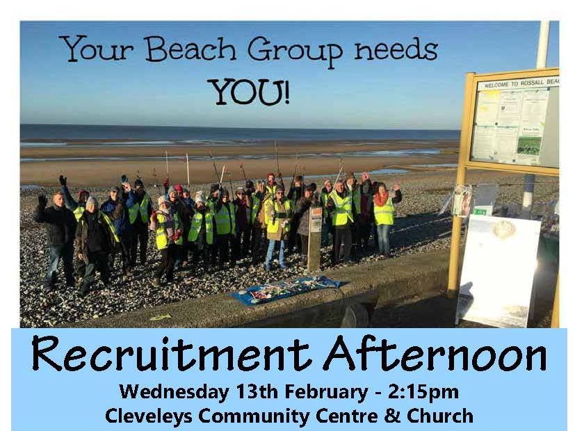 Rossall Beach Group Recruitment Event