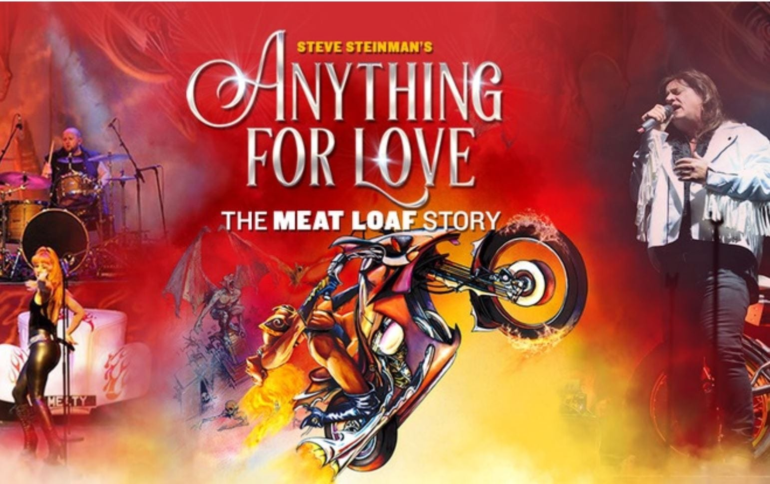 Steve Steinman's Anything For Love at Blackpool Grand Theatre