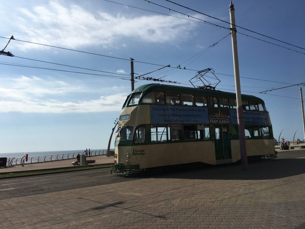Promenade Heritage Tram Tours are the BEST way to see Blackpool seafront in style!
