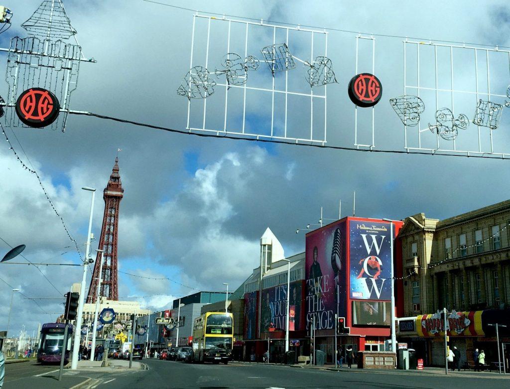 Blackpool Promenade, Tower and Madame Tussauds