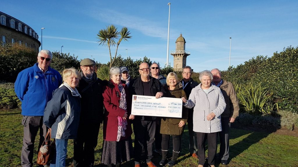 Fleetwood Town Council award a grant for Fleetwood Day 2019