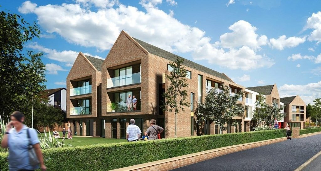 Lighthouse View, new extra care development at Chatsworth from Regenda Homes