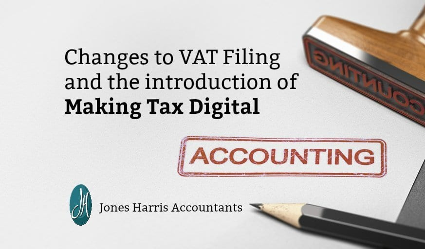 Changes to VAT Filing