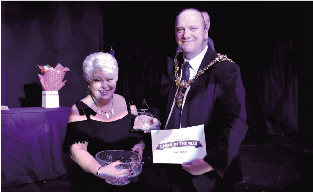 Anne Scully, ICare Carer of the Year