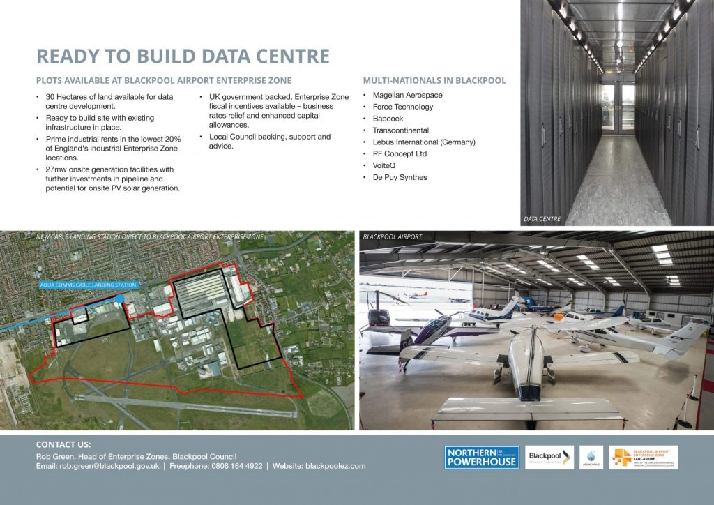 New data centre for Blackpool