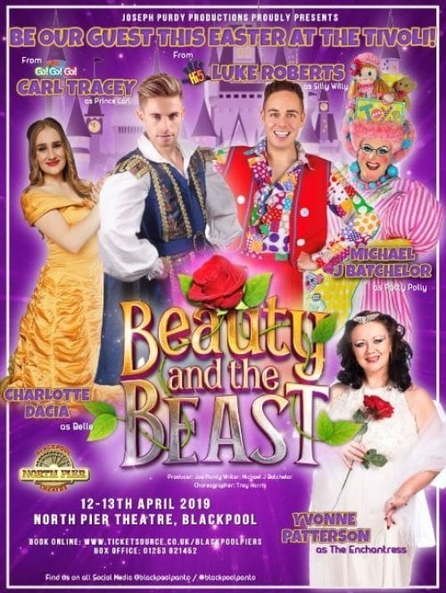 Beauty and the Beast at Blackpool North Pier