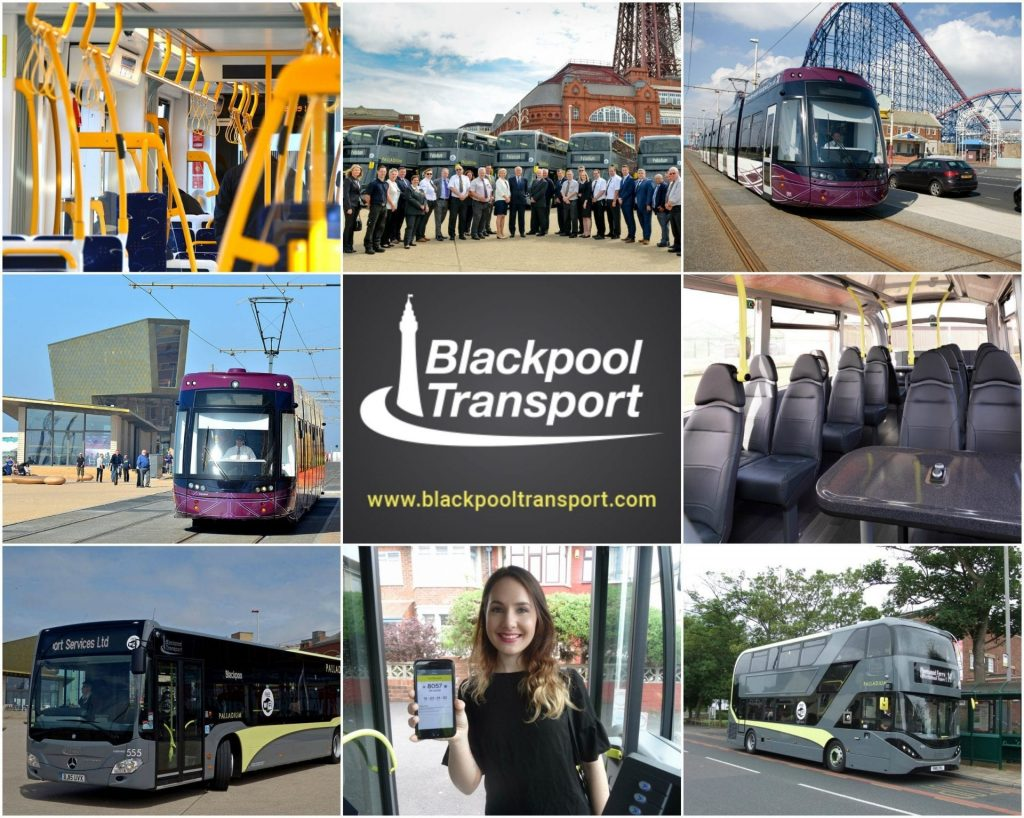 Getting around with Blackpool Transport buses and trams