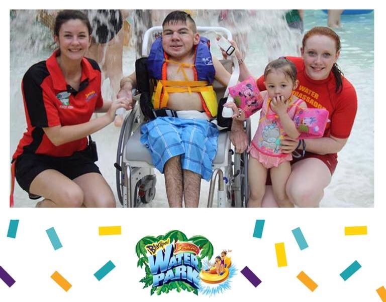 Disabled Access Day at Sandcastle Waterpark 2019