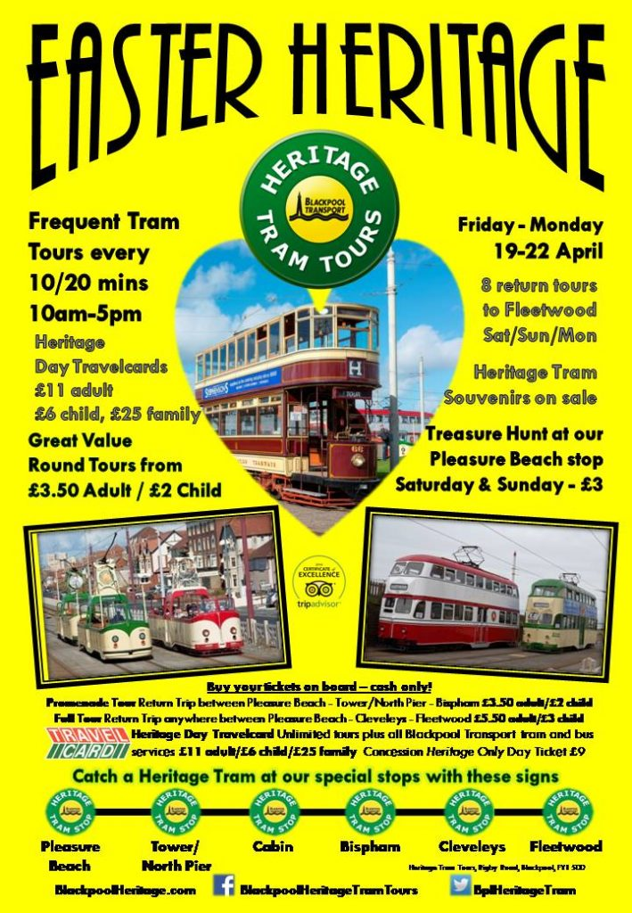 Easter Heritage Tram Tours 2019