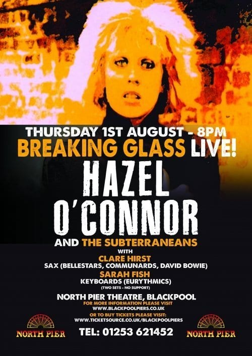 Hazel O'Connor at Blackpool North Pier