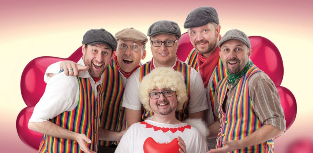 The Lancashire Hotpots - The Love Tour - at Blackpool Grand Theatre