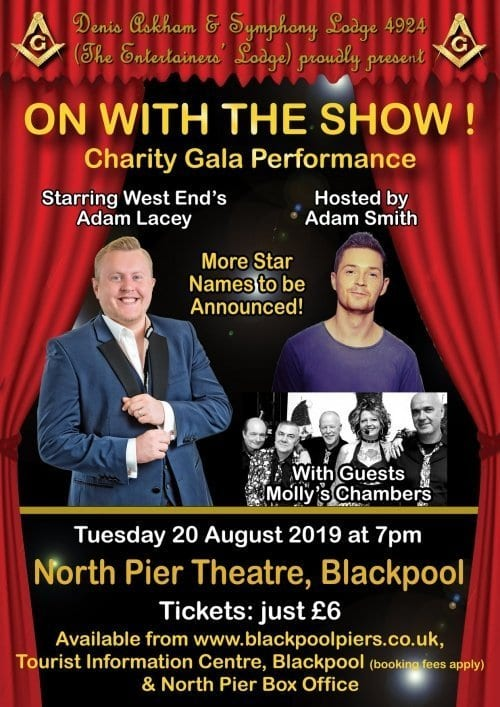 On with the Show at Blackpool North Pier