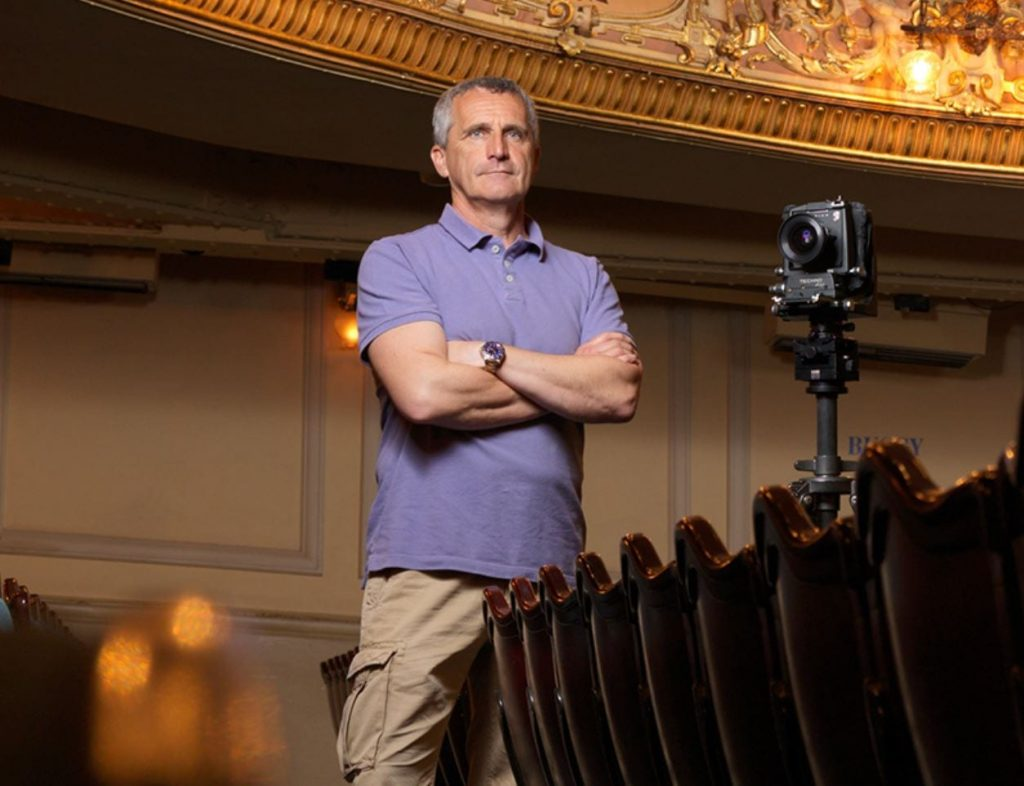 Photographic Sessions with Sean Conboy at Blackpool Grand Theatre