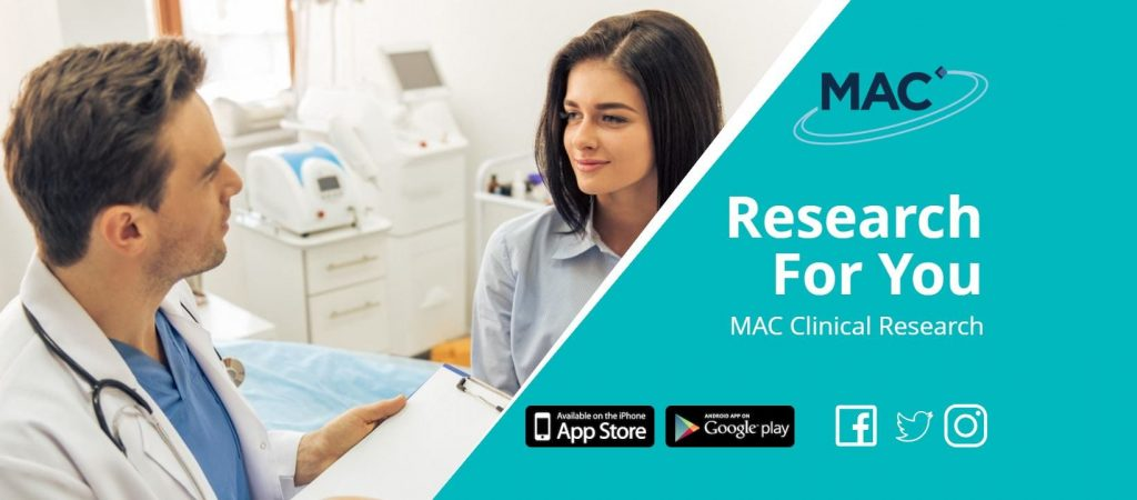 The Research for You app from MAC Clinical Research