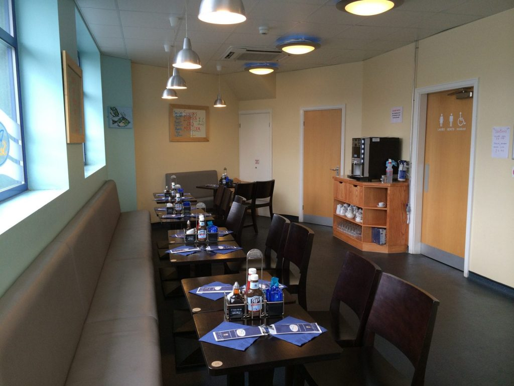Seniors Bispham fish and chip restaurant