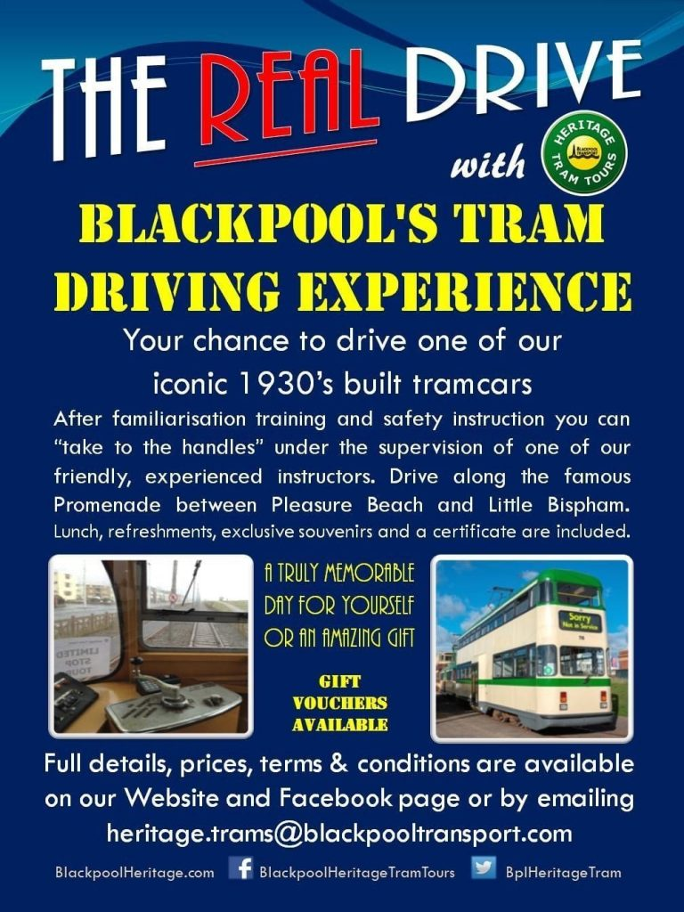 Blackpool Heritage Tram Driving Experience