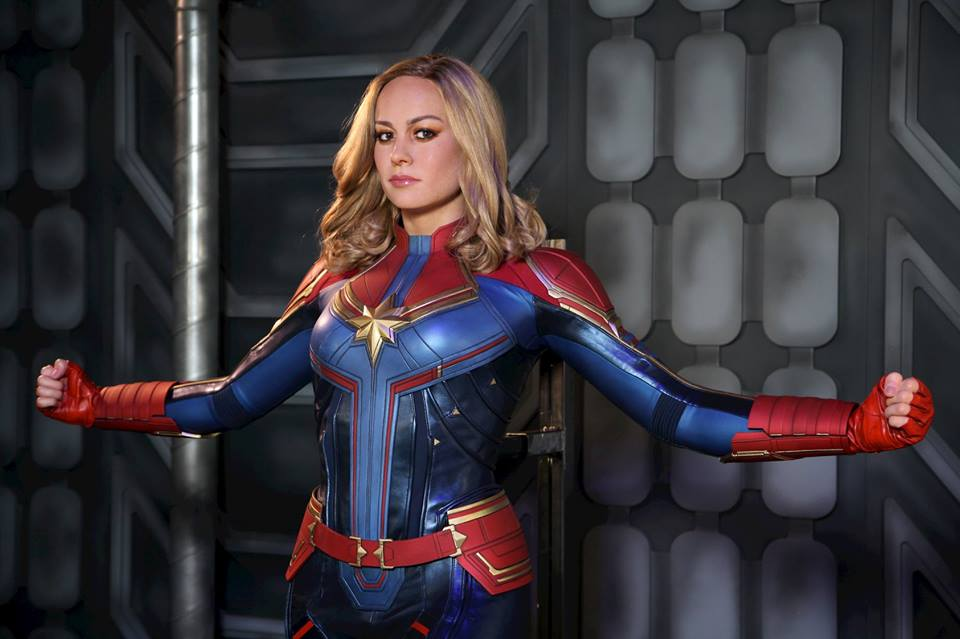 Meet Captain Marvel at Madame Tussauds Blackpool
