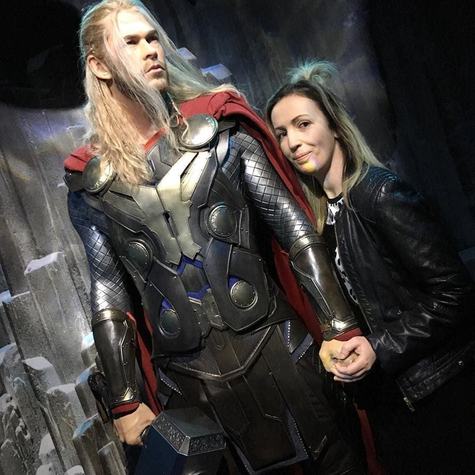 Meet Thor at Madame Tussauds