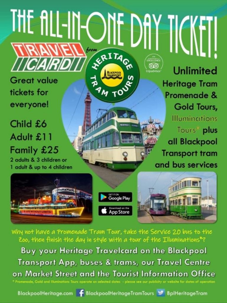 Heritage Tram Tours All in One Day Ticket