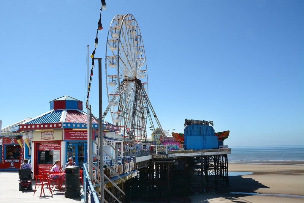 Big Wheel on Blackpool Central Pier