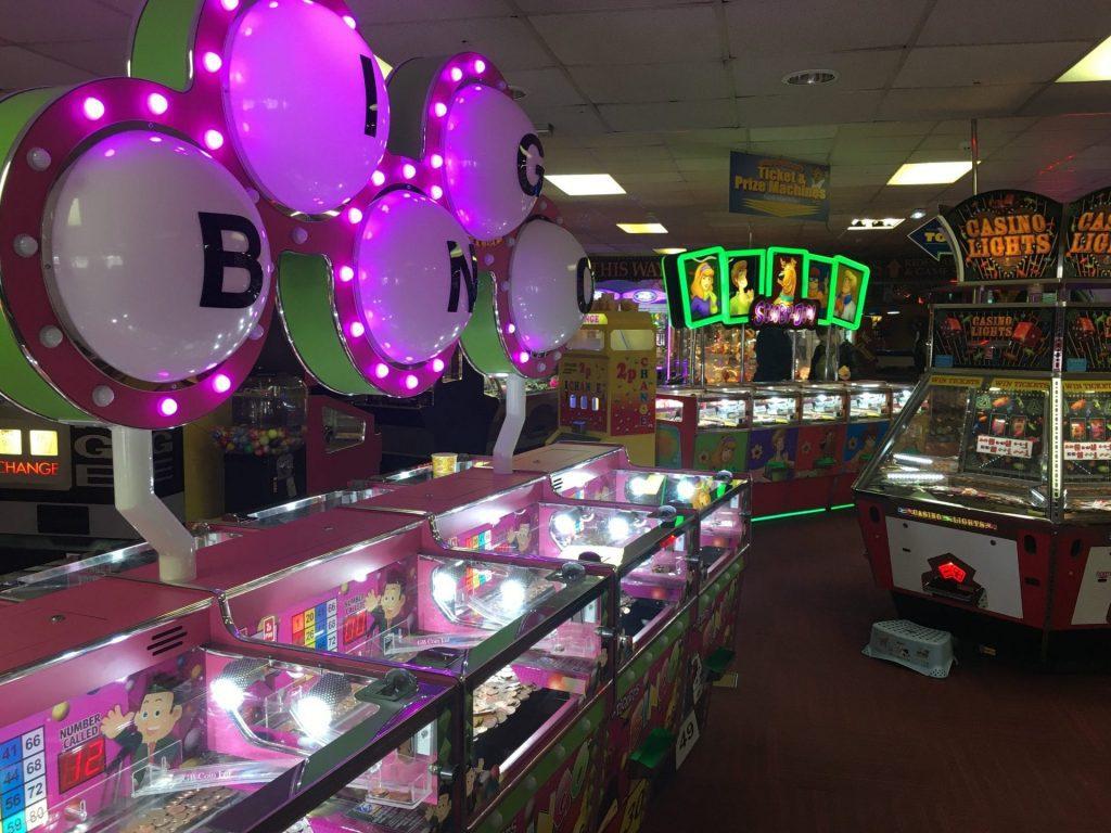 Arcade at Blackpool Central Pier