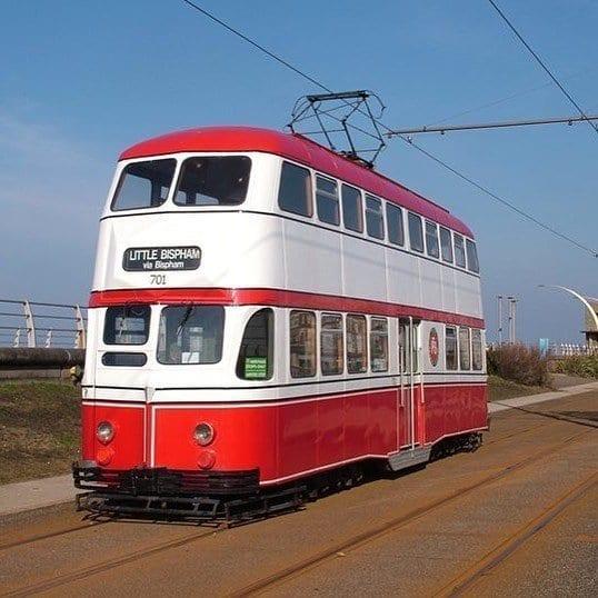 Blackpool Heritage Tram 701