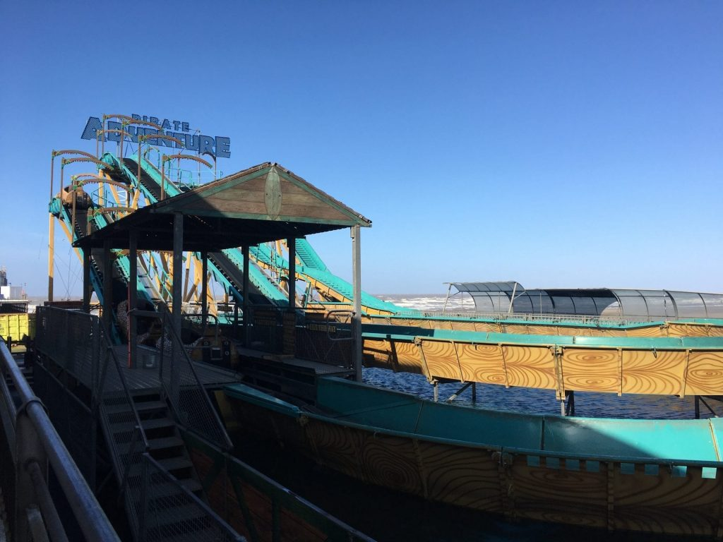 Log Flume at South Pier