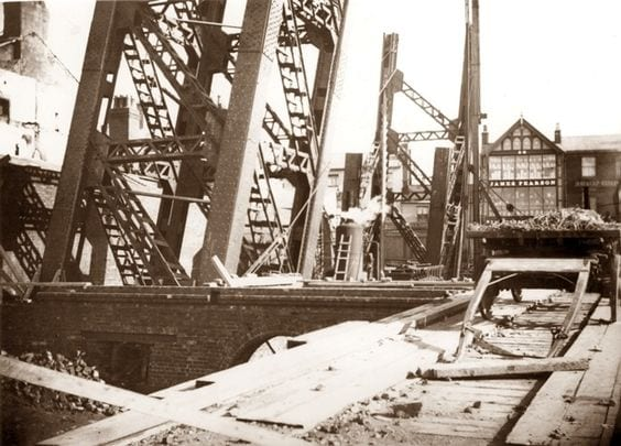 Building Blackpool Tower in 1891