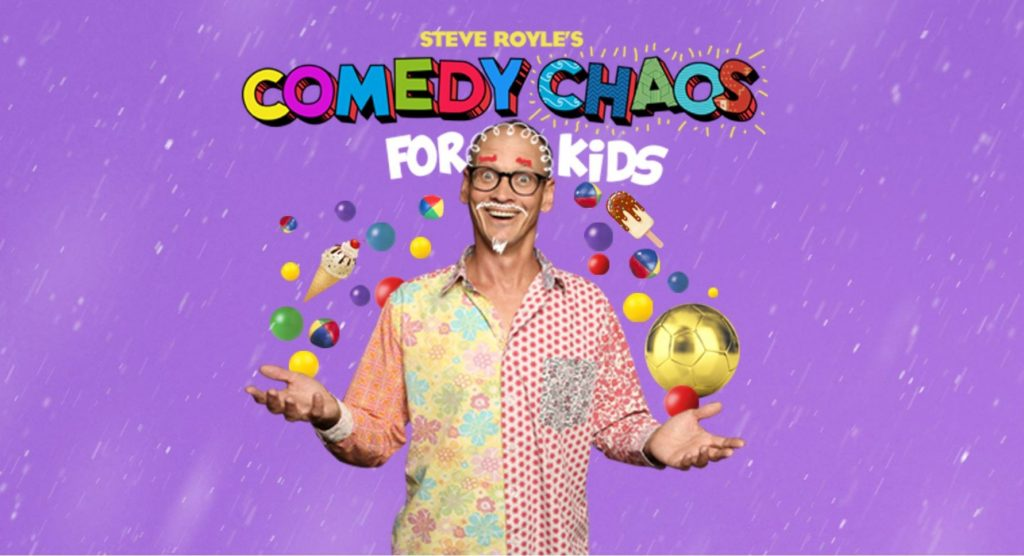 Steve Royle's Comedy Chaos for Kids at Blackpool Grand Theatre