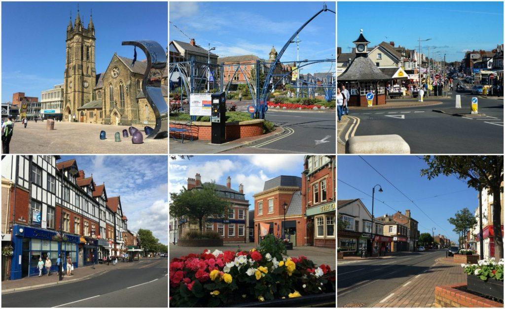 Fylde Coast town centres