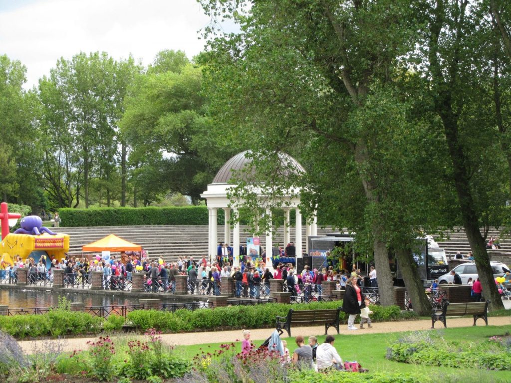 Free live music concerts at Stanley Park Bandstand. Just one of the things to do for free on the Fylde Coast
