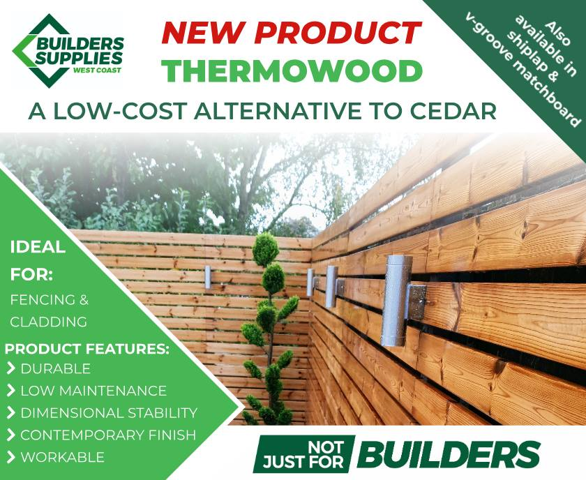 Thermowood from Builders Supplies