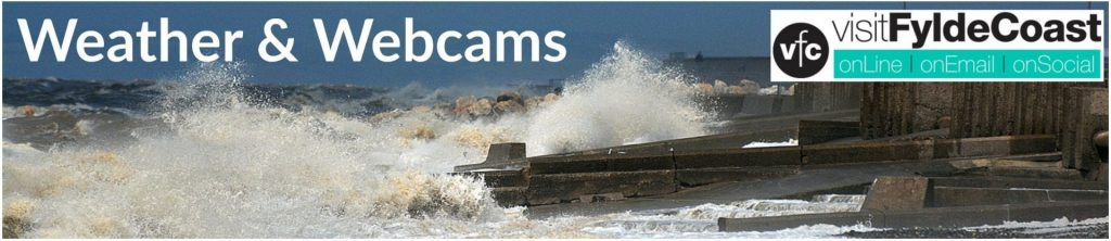 Weather and webcams with Visit Fylde Coast