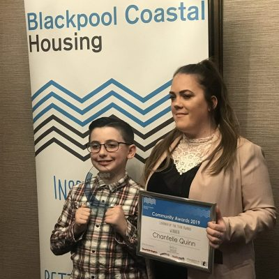 Awards mark success of Blackpool Coastal Housing training programme