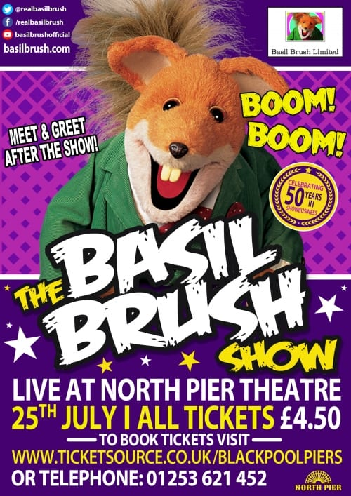 Basil Brush Show at North Pier