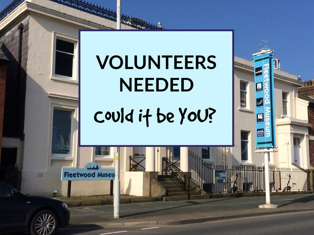 Volunteers needed to help out at the Museum. Could it be you?