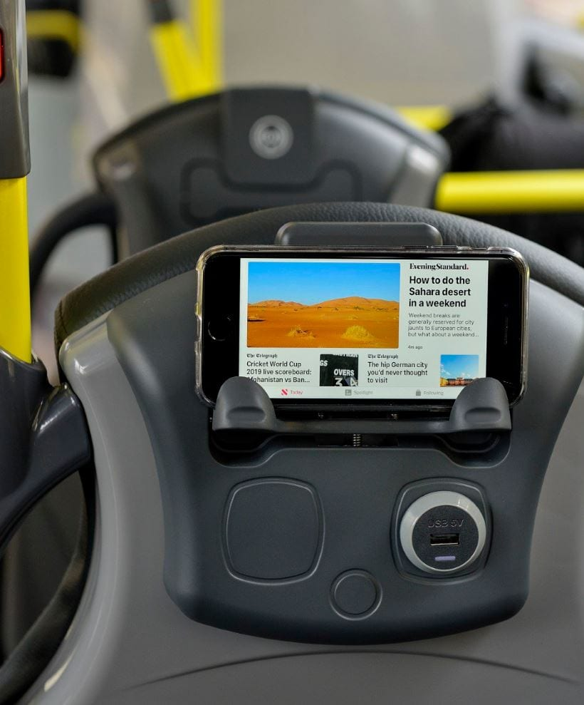 Wireless Charging on new Blackpool Transport buses